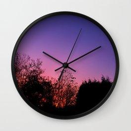 Shepherd's Warning Wall Clock