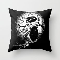 Hoot Hoot! Throw Pillow