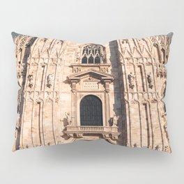 Milan Cathedral, Duomo di Milano, Gothic church, Lombardy, Milan photography Pillow Sham
