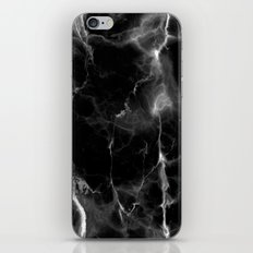 Black Marble iPhone & iPod Skin