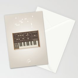 The Synth Project - Moog Prodigy - Updated Stationery Cards