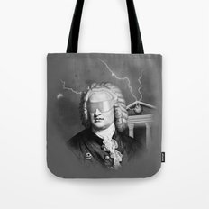 Bach To The Future Tote Bag
