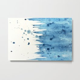 Watercolor abstract patterns that do not exist.Actually there are many color patterns.No.61 Metal Print