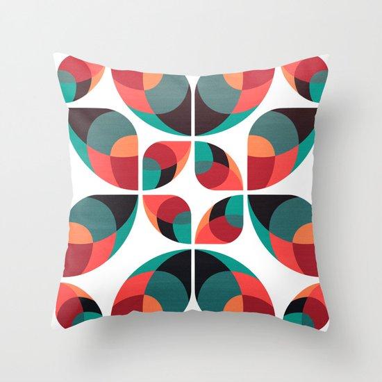 Fantasy Garden Pattern III Throw Pillow