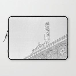 London Truman Chimney - Line Art Laptop Sleeve