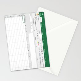 Excel Stationery Cards