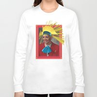 megan lara Long Sleeve T-shirts featuring Lara by Robert Cooper