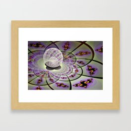 Fractal Within a Fractal Framed Art Print