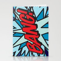 comic book Stationery Cards featuring Comic Book BANG! by The Image Zone