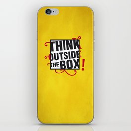 Think outside the BOX!  iPhone Skin