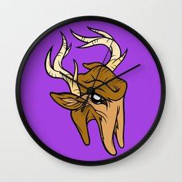 Bucktooth Wall Clock