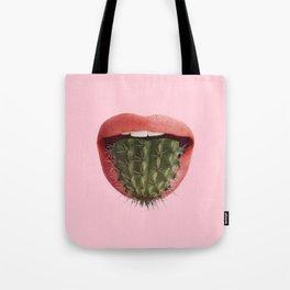 Cactus Mouth Tote Bag