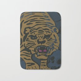 Golden Tiger Bath Mat