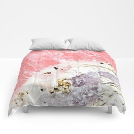 GOLD FLECKED ROSE QUARTZ Comforters