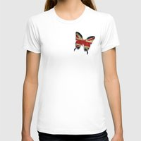 union jack T-shirts featuring union & jack by Steffi Louis