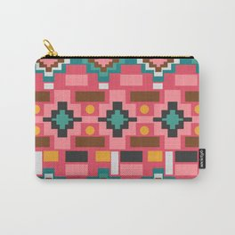 Multicolored joyful shapes Carry-All Pouch