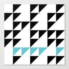 Tri Pixel Canvas Print
