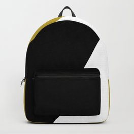 Modern geometric design Backpack