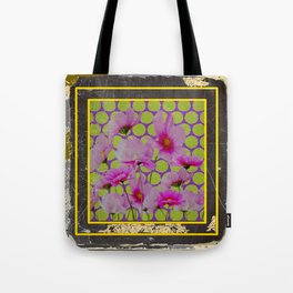 GRUNGY ANTIQUE SHABBY CHIC COSMOS Tote Bag