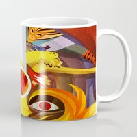 thundercats Mugs featuring HO by modHero