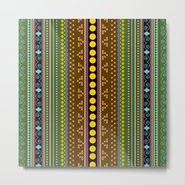 African texture Metal Print