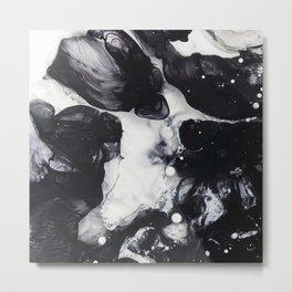 Marble Swirl Metal Print