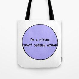 Sensual Woman Tote Bag