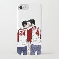 sterek iPhone & iPod Cases featuring Sterek - Jerseys by xKxDx