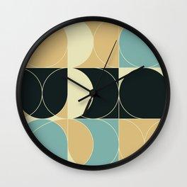Abstract Geometric Artwork 35 Wall Clock