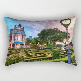 Disneyworld  Sunset Rectangular Pillow