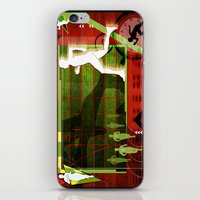 running iPhone & iPod Skins featuring Running by Robin Curtiss