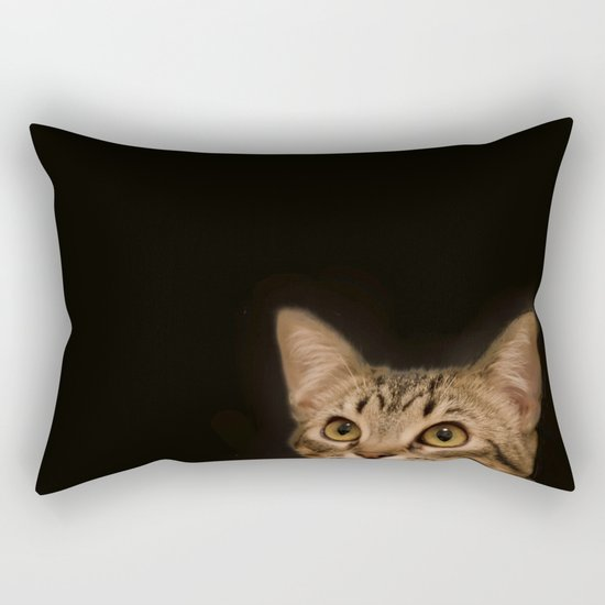 cat Ichat Rectangular Pillow