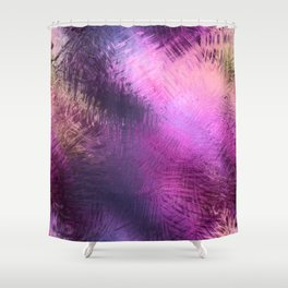 Glazed in Pink Shower Curtain