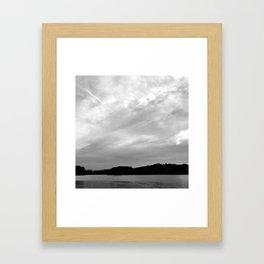 Spy Pond Rowers  Framed Art Print