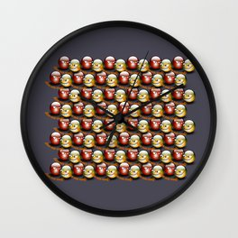 Wanna make orange? Wall Clock
