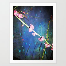 Lluvia en Abril Art Print