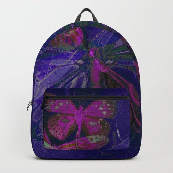 Marble Butterflies Backpack