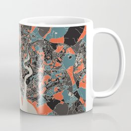 Southampton Multicoloured Print Coffee Mug