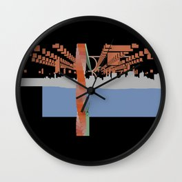 NEW WORK CITY Wall Clock