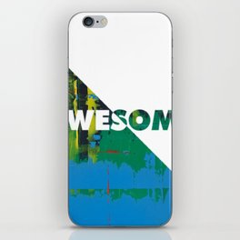 Color Chrome - Awesome graphic iPhone Skin