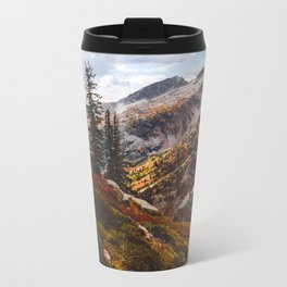 Alpine Autumn Metal Travel Mug