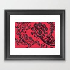 Birth of a Galaxy Framed Art Print