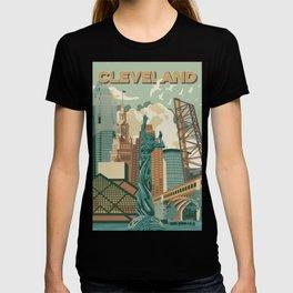 Cleveland City Scape T-shirt
