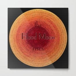 Blood Moon on the Rise Metal Print