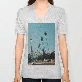 Los Feliz, Los Angeles Unisex V-Neck