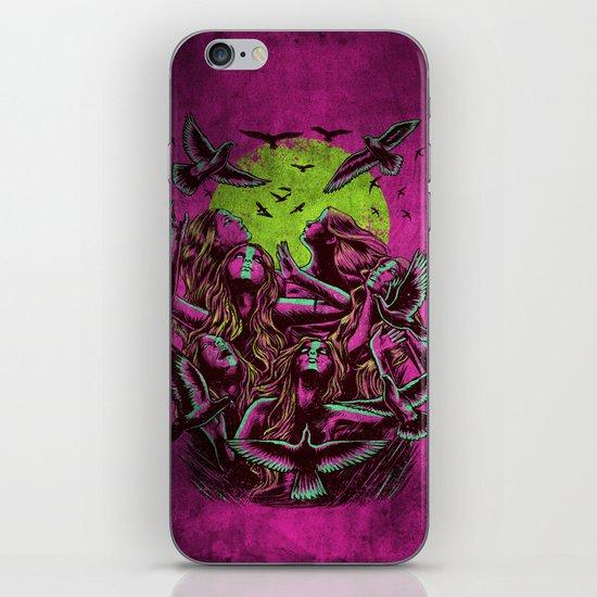 FLAYING BACK iPhone & iPod Skin