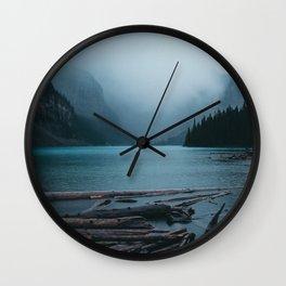 Foggy Moraine Wall Clock