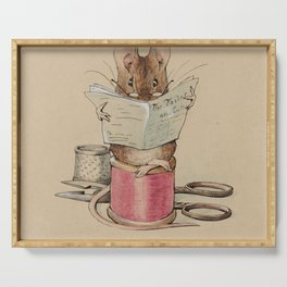 Beatrix Potter Tailor Mouse Serving Tray