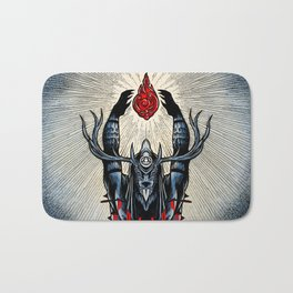 From The Hill (color) Bath Mat