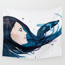 Never stop dreaming Wall Tapestry